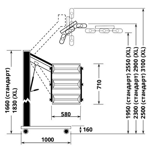 ИК сушка VLP30