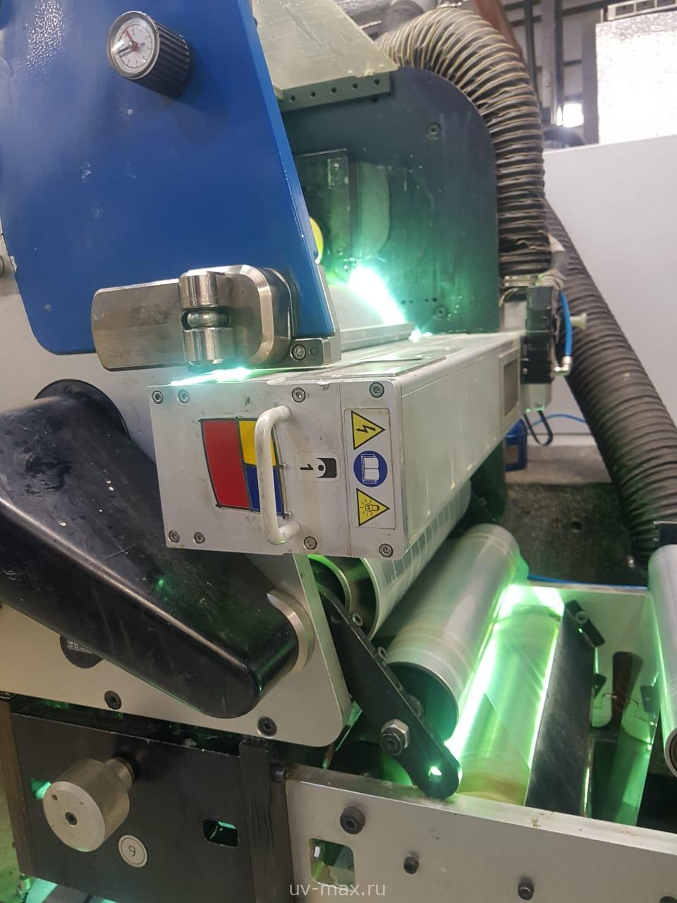 Реализованный проект на печатной машине Gallus 340