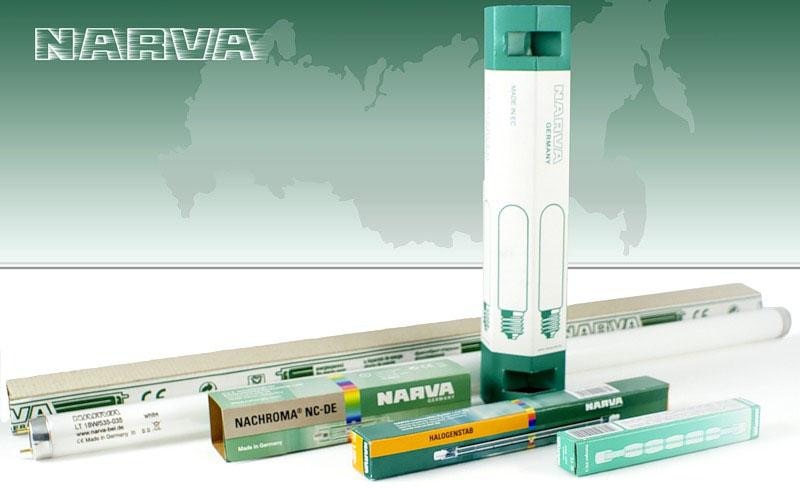 УФ и ИК лампы Narva